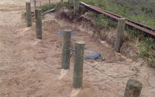 Pole Foundation Project